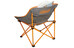 Coleman Kickback Breeze Chair orange